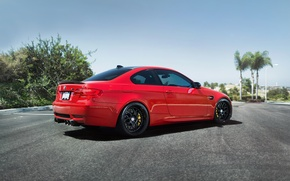 Picture road, BMW, BMW, red, red, e92