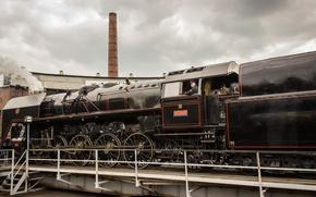 Picture The engine, Locomotive, Train, Skoda, Old appliances