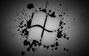 Picture windows, microsoft, Logo