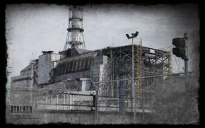 Picture pipe, Stalker, calendar, Chernobyl