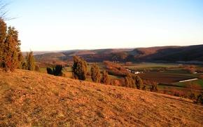 Picture hills, colors, autumn
