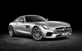 Picture silver, mercedes benz, 2015, amg gt