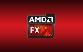 Picture Red, AMD, CPU
