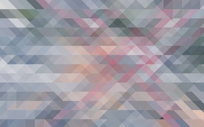 Picture Abstraction, Patterns, Minimalism, Triangles, Squares, Pattern., Recursion