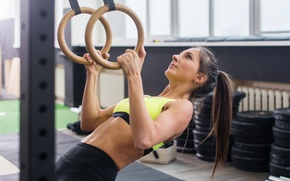 Wallpaper athletic body, gym, crossfit