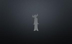 Picture Music, Black, Logo, Minimalism, Buffalo Man, Jamiroquai