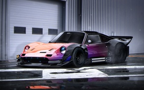 Picture Ferrari, Color, Tuning, Future, Rendering, Dino, 246, by Khyzyl Saleem, Nacrous