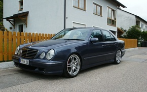 Picture Mercedes-Benz, Mercedes, E-class, AMG, E-Class, 1999, E-class, W210, Executivklasse, Lupato, Eyed, E55