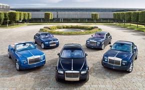 Picture pond, Rolls-Royce, Phantom, exhibition, five