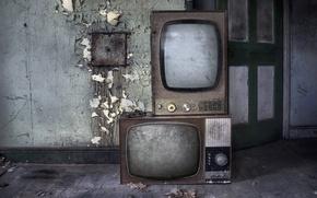 Picture background, interior, TV