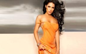 Picture girl, sexy, dress, brunette, Carissa Rosario