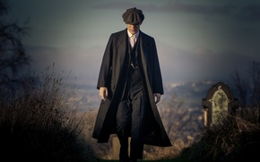 Picture cemetery, the series, BBC, Peaky blinders, Peaky Blinders, TV Show, Thomas Shelby, Cillian Murphy