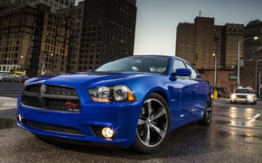 Wallpaper Daytona, Car, Blue, Machine, Wallpapers, Dodge, Charger, The charger, The front, Dodge, Wallpaper, Daytona, Car