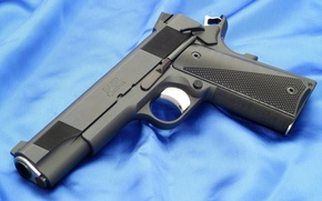 Picture Gun, Wallpaper, Weapons, Black, Gun, Wallpaper, M1911, Colt, Colt, M1911 pistol, Baer Custom