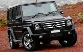 Picture Machine, Mercedes, Rain, Car, 2012, Car, AMG, Black, G55, Kompressor, Wallpapers, Beautiful, AMG, Wallpaper, The …