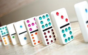Picture the game, Domino, Mexican