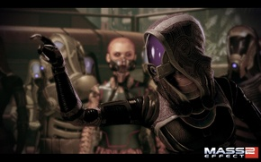 Picture mass effect, the court, Jack, Tali