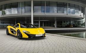 Picture McLaren, Yellow, Supercar, Yellow, Supercar