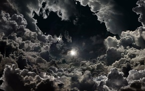 Picture the sky, stars, clouds, nature