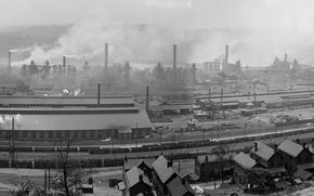 Picture panorama, USA, Pennsylvania, Braddock