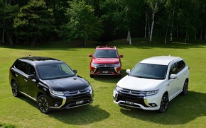 Picture Mitsubishi, Mitsubishi, JP-spec, Outlander, 2015, PHEV, Outlander