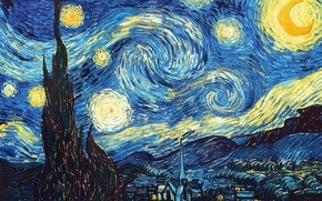 Picture Picture, Starry night, van Gogh