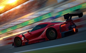Picture car, Concept, in motion, Toyota, render, Toyota FT-1