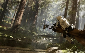 Picture star wars, star wars, Electronic Arts, dice, FPS, Frostbite 3, battlefront, speeder, battle front