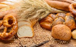 Picture Grain, Ear, Food, Cakes, Buns, Bread