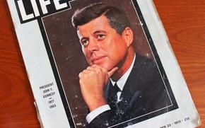 Picture journal, John, John, Kennedy, Kennedy, Fitzgerald, JFK, LIFE, The 35th President, Fitzgerald
