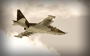 Wallpaper aviation, attack, su-25