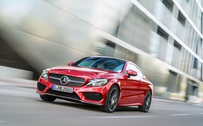 Picture Mercedes-Benz, Mercedes, AMG, Coupe, C-class, 4MATIC, 2015, C205