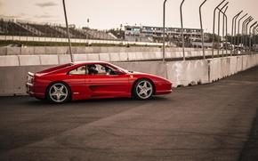 Picture Ferrari, Ferrari, track, Side, 355