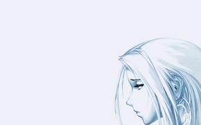 Wallpaper Ragnarok, Mood, Anime, Girl