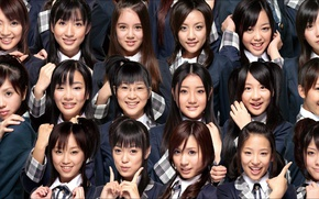 Picture mood, faces, emotions, Dolls, Japanese girls