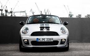 Picture Grille, The hood, Mini Cooper, Car, Room, MINI, Mini Cooper, Windshield, Terminal
