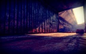 Picture The sun, Container, Mad Max, Mad Max