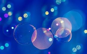 Wallpaper bubbles, bokeh, globes