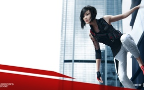 Picture wallpaper, game, DICE, Faith, Mirrors Edge, Mirrors Edge 2