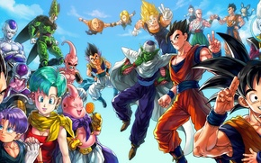 Picture Dragon, Anime, Wallpaper, Ball, Kid, Akira, Dragon Ball, Japanese, Goku, Small, Manga, High, Gohan, DBZ, …