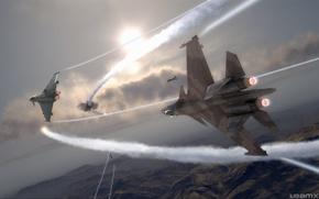 Picture HAWX, Dogfight, Eurofighter Typhoon 2000, Su-37 Terminator, Su-37 Terminator