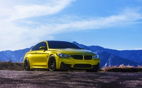 Picture BMW, Austin, Yellow, F82, VMR, V710