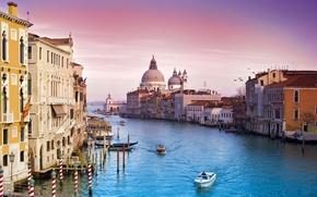 Wallpaper Venice, channel, the city