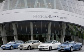 Picture mix, Museum, mercedes-benz, 212, e-class
