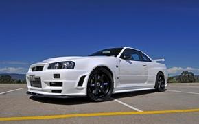 Picture GTR, Nissan, Skyline, BNR34, ONLY, v Spec II