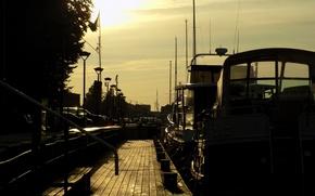 Picture Sunset, Pier, Summer