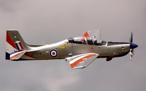 Picture the plane, pilot, flight, training, training, Short Tucano T1