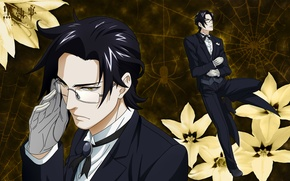 Picture black magic, the demon, by Yana Toboso, Butler, Kuroshitsuji, web, The devil's Butler, Claude Faustus, …