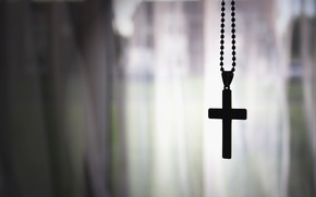 Picture background, God, Cross, chain, faith