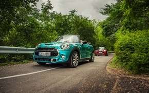 Wallpaper Mini, Cooper, mini, convertible, Cooper, Cabrio, F57
